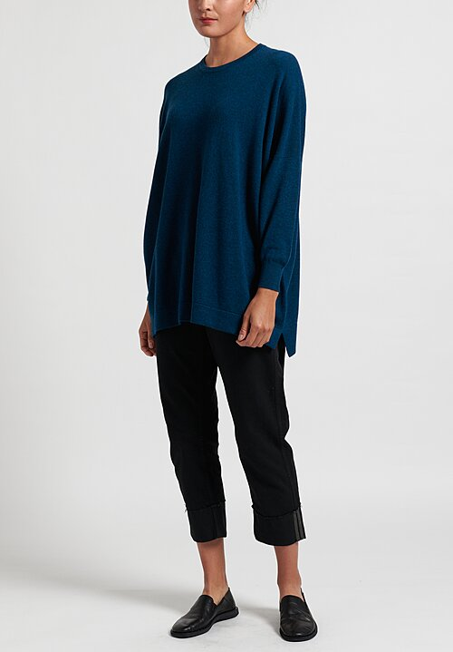 Hania New York Cashmere Marley Crewneck in Fair Isle