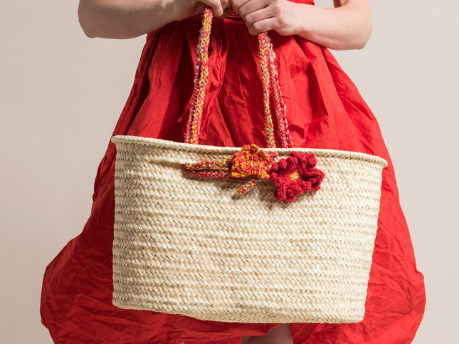 New Daniela Gregis Spring/Summer 2017 Basket Handbag | Santa Fe Dry Goods & Workshop