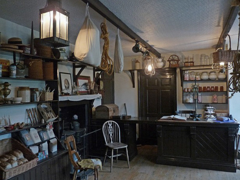 Victorian Store Interior by Robin Drayton | Inspiration of Marc Le Bihan Style Mosaic | Santa Fe Dry Goods & Workshop