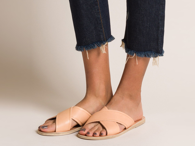New Ancient Greek Sandals Thais Sandal in Natural | Santa Fe Dry Goods & Workshop
