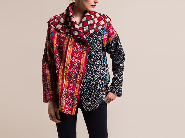 New Mieko Mintz Kantha Jackets | Santa Fe Dry Goods & Workshop