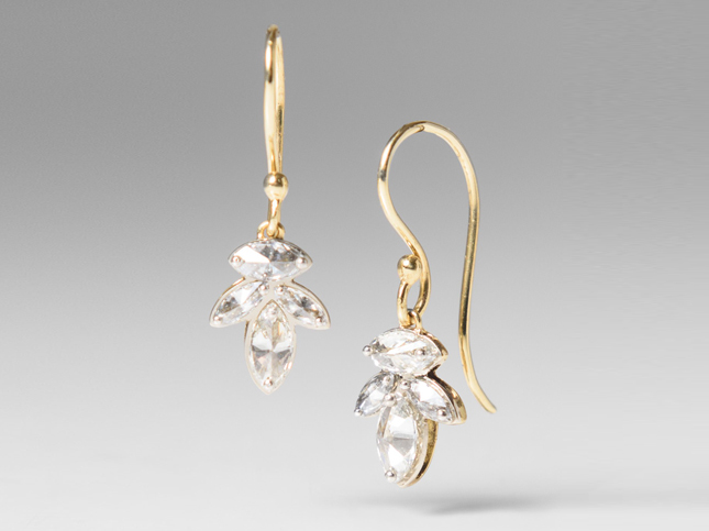 New TAP by Todd Pownell jewelry diamond earrings | Santa Fe Dry Goods & Workshop