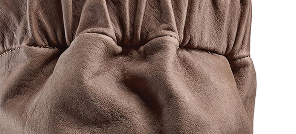 Trippen Shoes Leather Detail | Santa Fe Dry Goods & Workshop