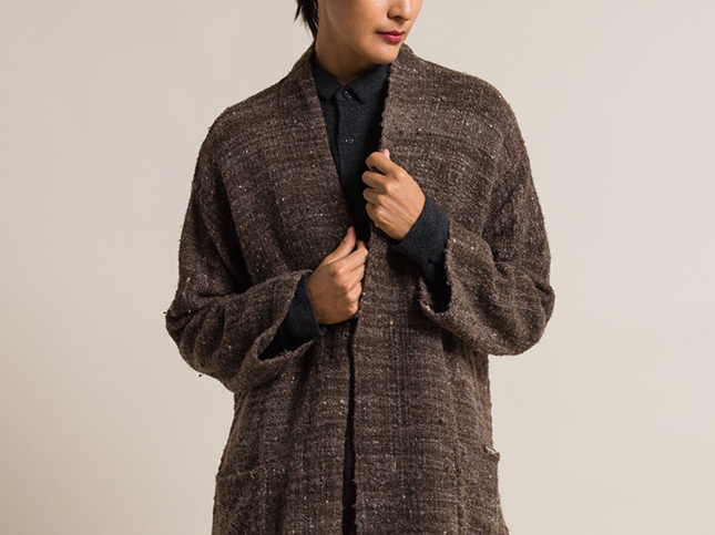 New Kaval Homespun Merino New Woolman Coat | Santa Fe Dry Goods & Workshop