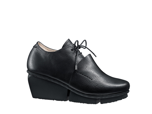 Trippen Rapid Black Leather Shoe | Santa Fe Dry Goods & Workshop