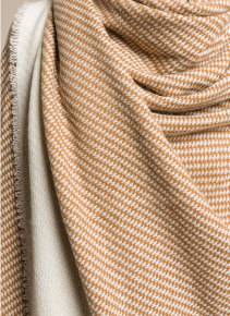 Alonpi Vicuna Wool and Cashmere Tritora Throw in Natural | Santa Fe Dry Goods & Workshop
