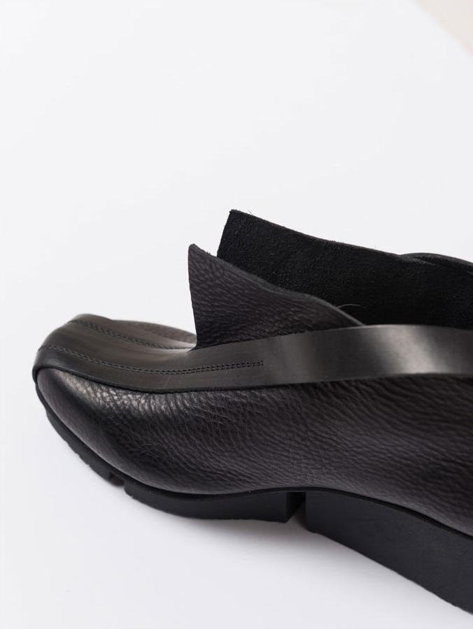 Trippen Peak Black Leather Bootie | Santa Fe Dry Goods & Workshop