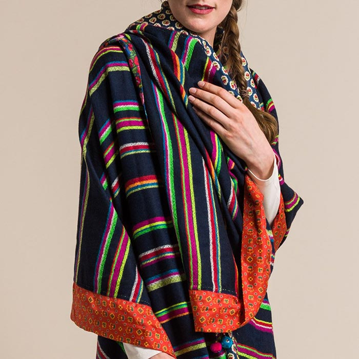 Péro Large Rumal Scarf in Multicolor | Santa Fe Dry Goods & Workshop