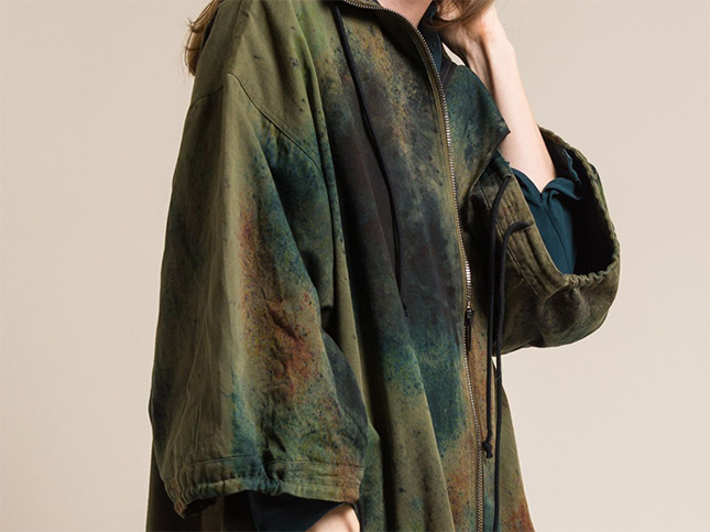 Toogood Cotton Camouflage Explorer Anorak in Earth | Santa Fe Dry Goods & Workshop