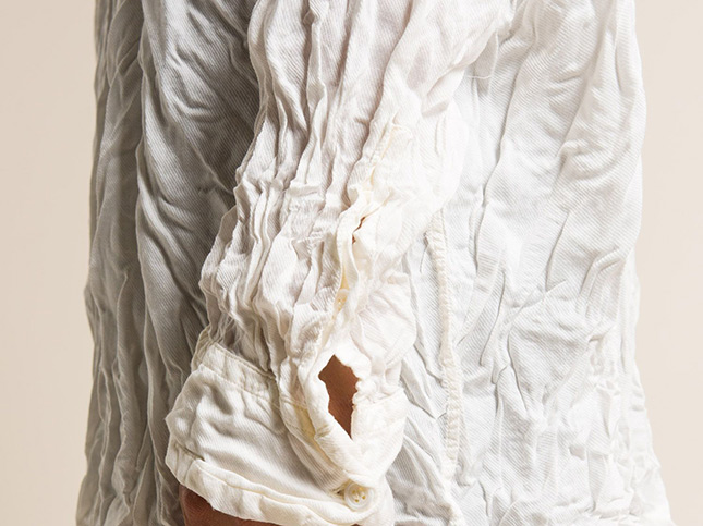 Casey Casey Milk Fiber TYC Shirt in Ceylan White | Santa Fe Dry Goods & Workshop