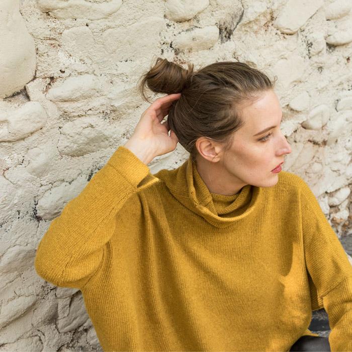 Daniela Gregis Cashmere Turtleneck Sweater