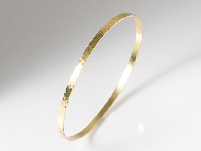 Greig Porter 18K Gold Medium Bangle