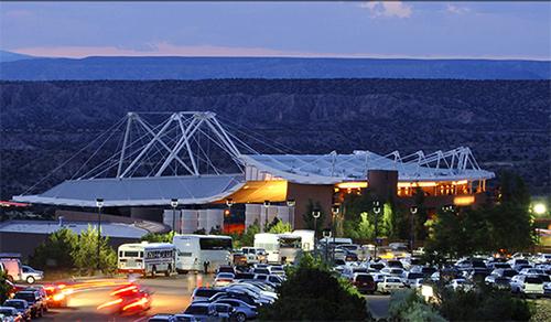 Aerial View of Santa Fe Opera