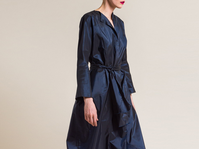 Daniela Gregis Navy Blue Dress