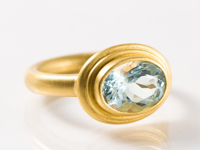 Denise Betesh Gold Ring