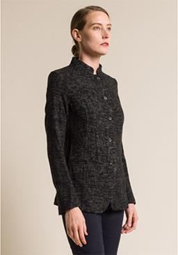 Uma-Wang-Virgin-Wool-Lightweight-Keira-Jacket-in-Black_Tan
