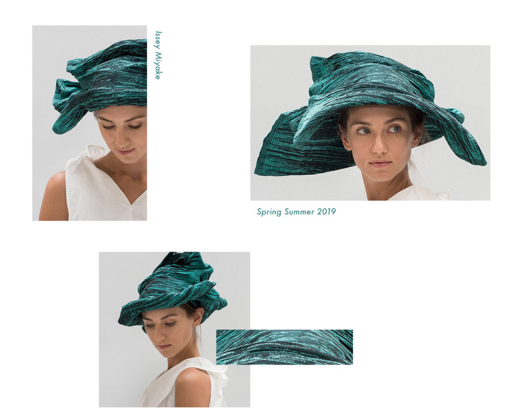 Issey Miyake Spring Summer 2019 Collection, Hats
