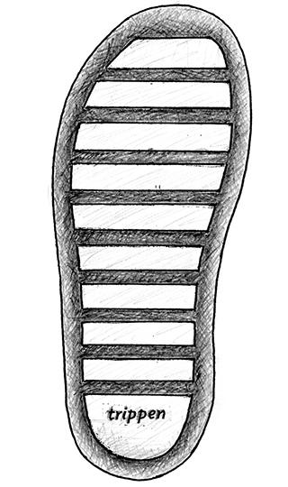 Trippen's Sole Stick Stick