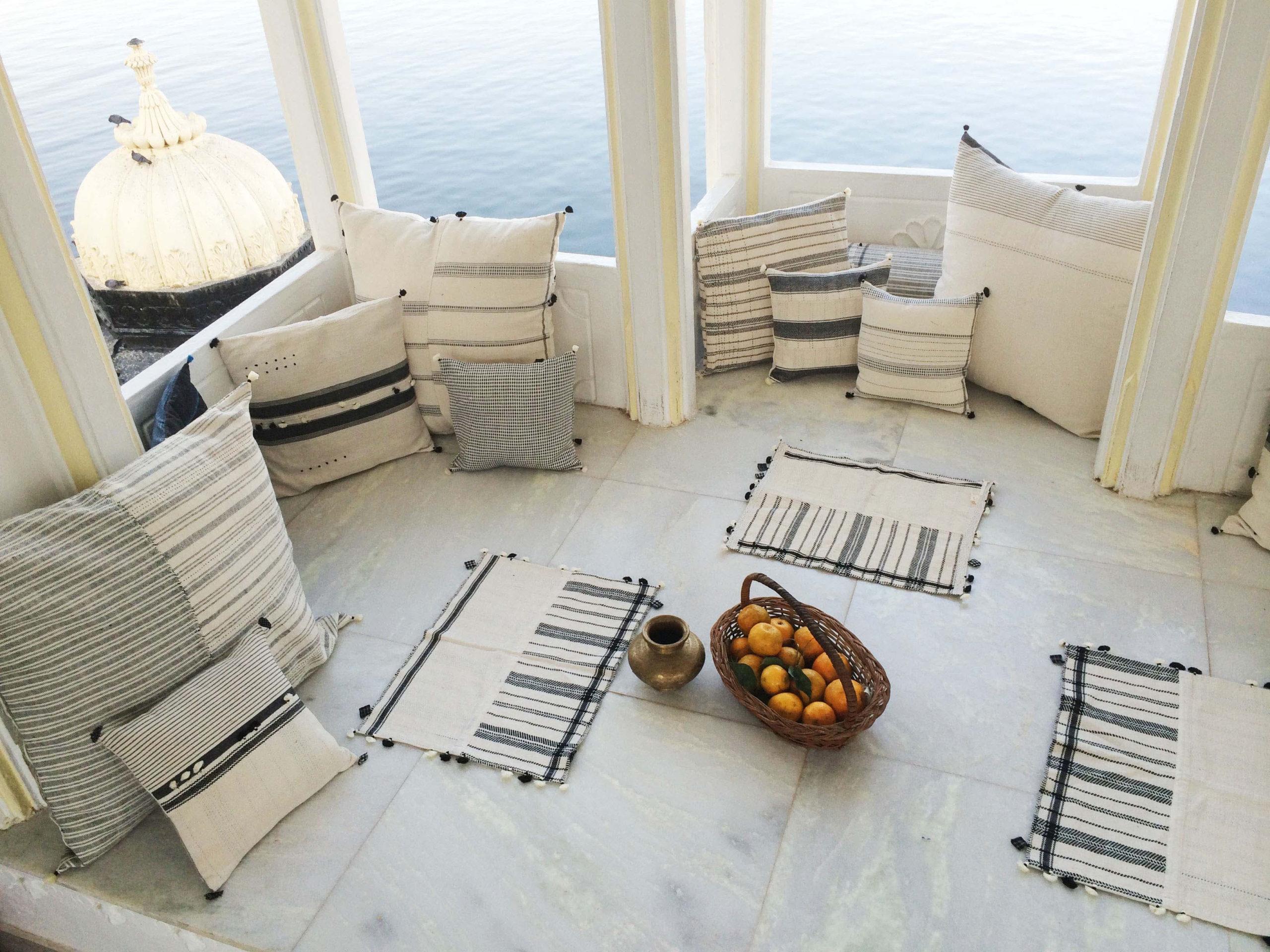 Injiri Bed Pillows, Coasters and Napkins