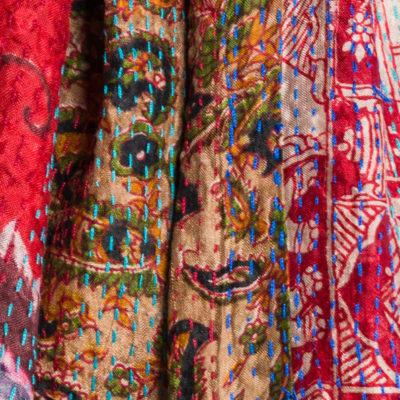Mieko Mintz Kantha Stitching