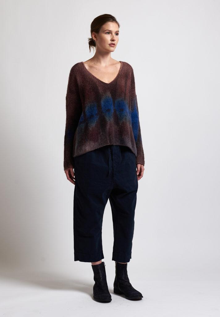 f cashmere Ombre V-Neck Sweater