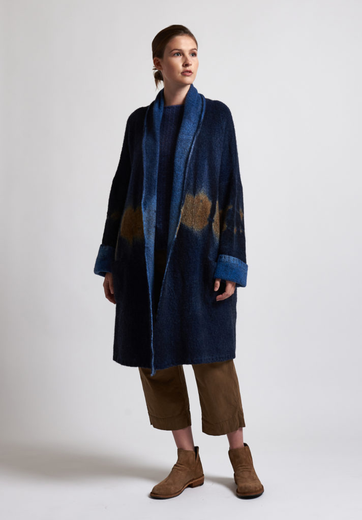 f cashmere Ombre Jacket in Blue