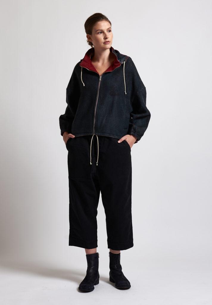f cashmere Bomber Jacket in Black