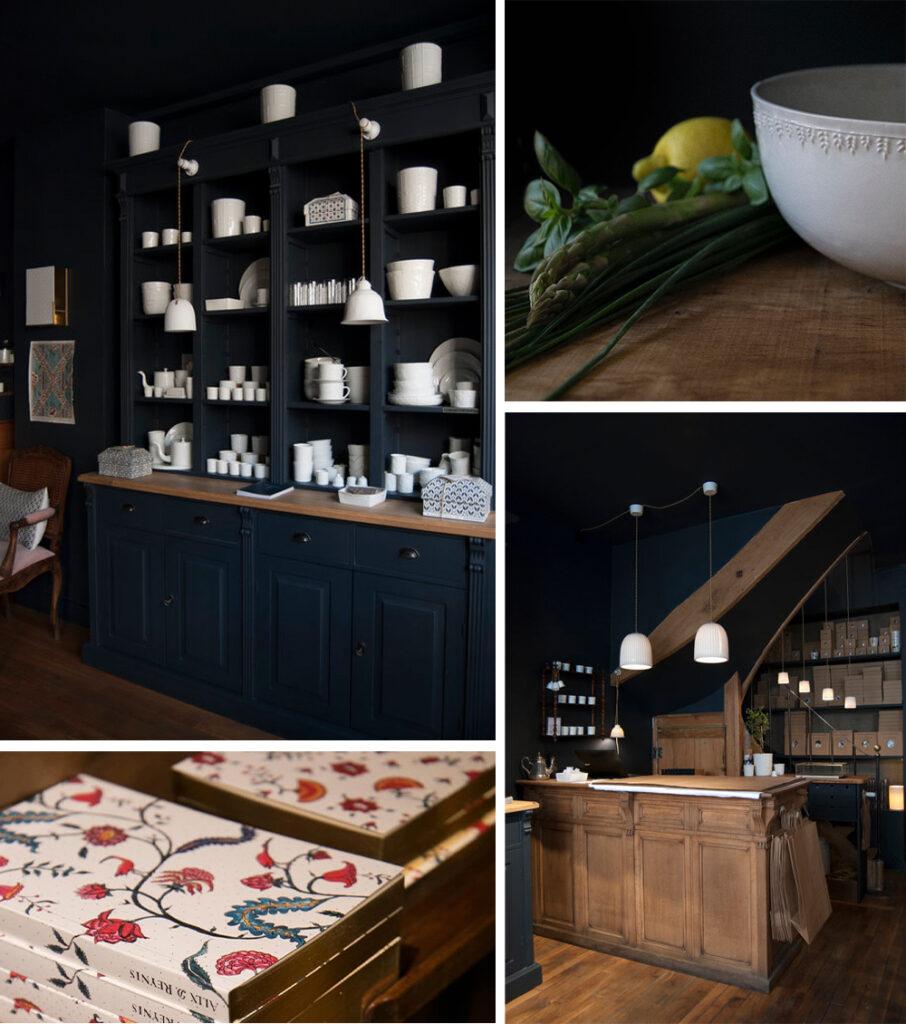 Alix D. Reynis St. Germain Des Pres Shop and Ceramics