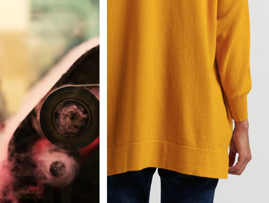 Hania New York Yellow Sweater