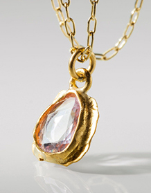 Margery Hirschey Pink Sapphire Necklace | Jewelry Inspiration Board | Santa Fe Dry Goods & Workshop