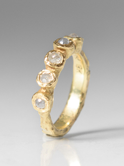 TAP by Todd Pownell 5 Cognac Diamond Ring | Jewelry Inspiration Board | Santa Fe Dry Goods & Workshop