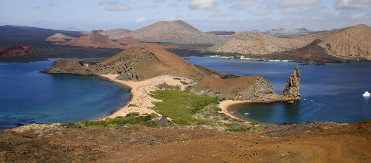 Galapagos Islands Landscape | Jewelry Inspiration Board | Santa Fe Dry Goods & Workshop