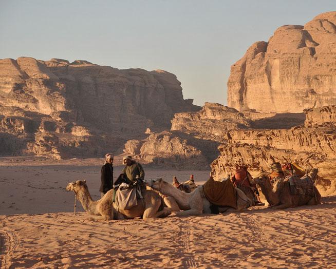 Wadi Rum Desert, Jordan Bedouins | Nicholas K Nature Walk Mosaic | Santa Fe Dry Goods & Workshop