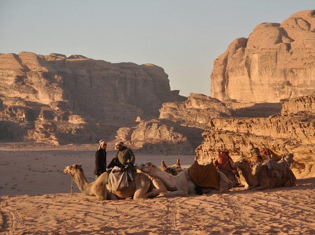 Wadi Rum Desert, Jordan | Nicholas K Nature Walk Mosaic | Santa Fe Dry Goods & Workshop